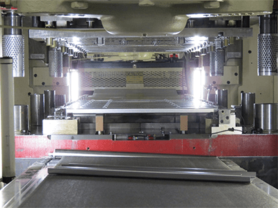 Get your metal part stamped in Ultra's new servo press