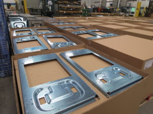 On-time delivery of metal frames