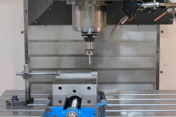 Machining die components