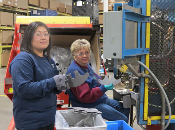 Teamwork on customer projects