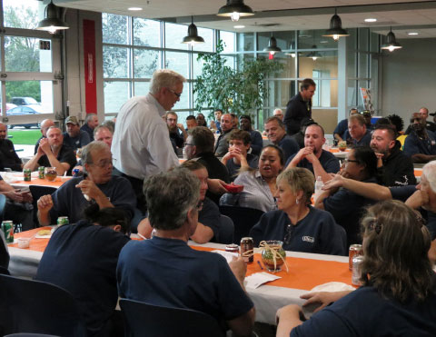 Employee awards and luncheon