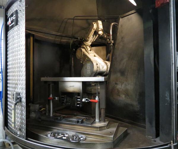 Second Robotic Welding Arm
