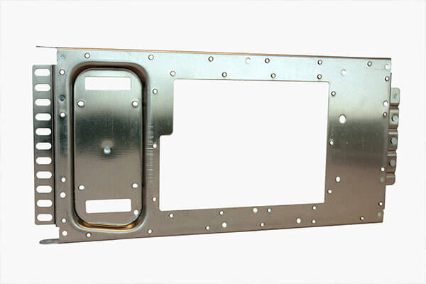 Aluminum frame with pem nuts