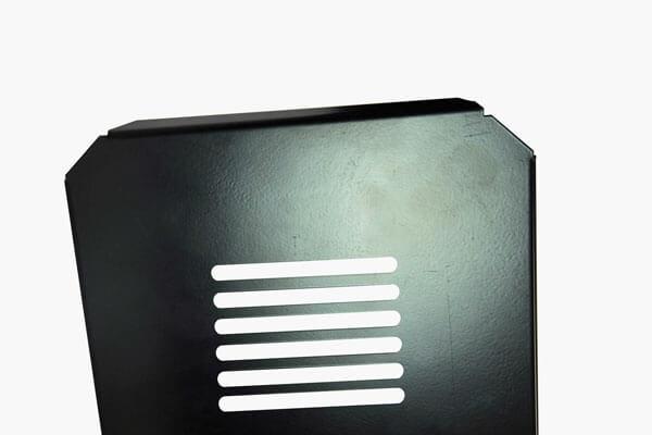 Industrial motor screen