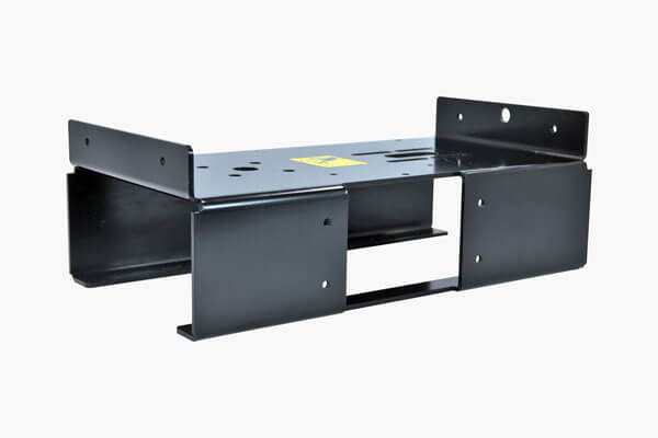Assembled parts requiring metal bending