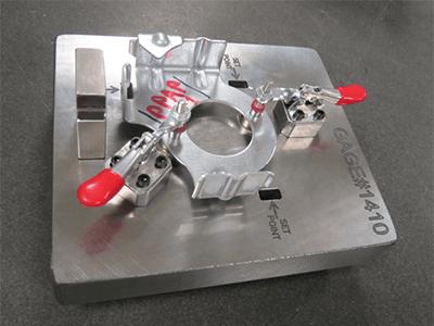 Customized gauges establish design and quality standards for metal stamped parts