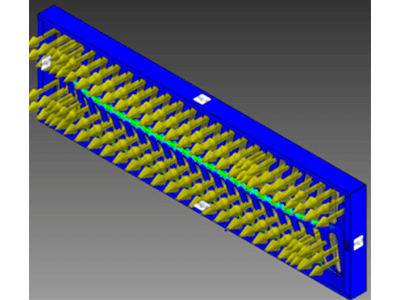 How does the flow of material control your metal part's design