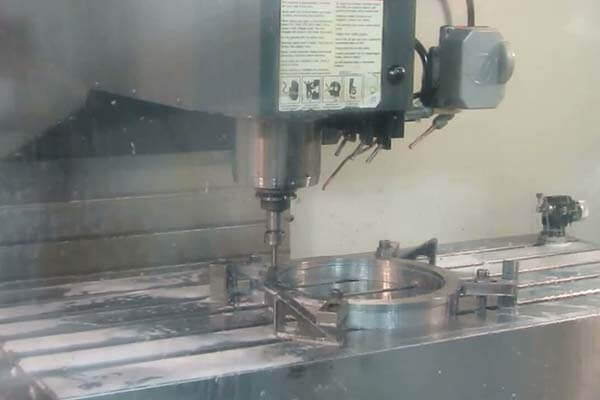 CNC Machining Die Component Moment
