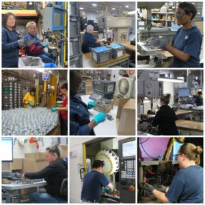 Assembly operations and final inspection & packaging
