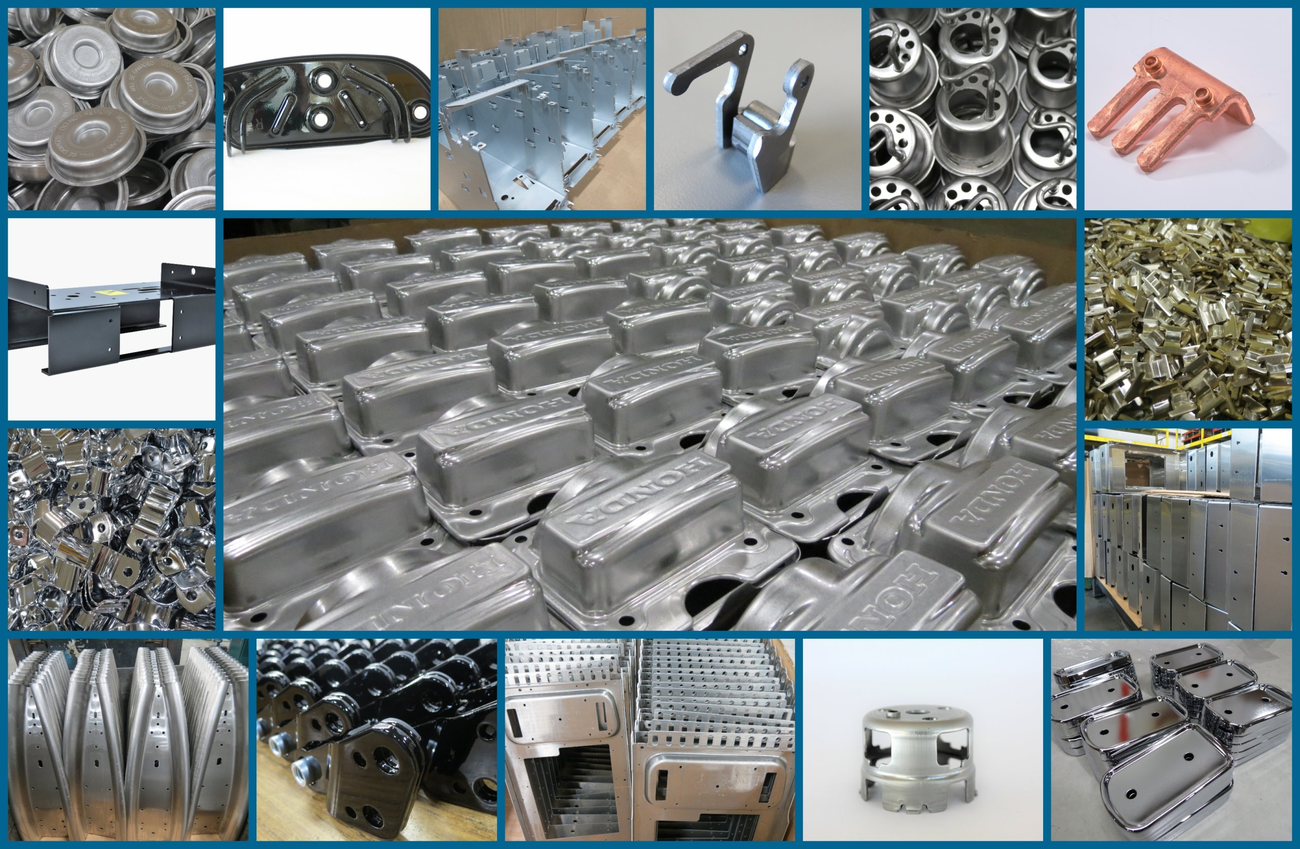 stamped metal parts and fabricated metal parts