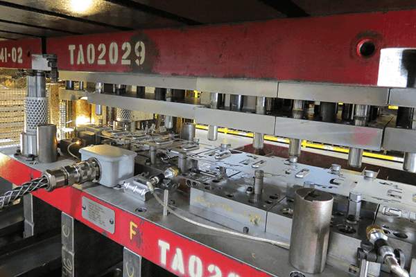 Comprehensive metal stamping services