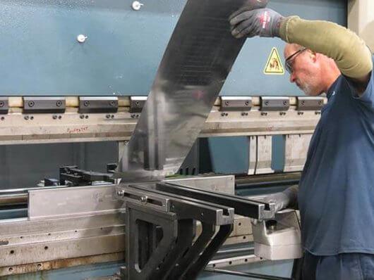 CNC Press Brake In Action